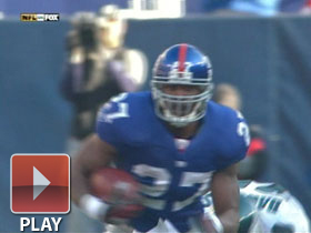 Divisional: Brandon Jacobs highlights
