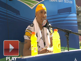 Media Day: Hines Ward