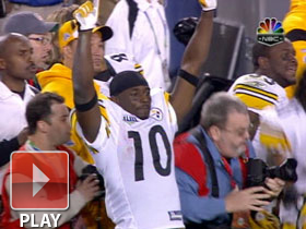 SB XLIII Can't-Miss Play: Steelers win!