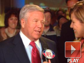 Robert Kraft talks about the Patriots 2009 season.