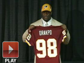 Redskins introduce Orakpo
