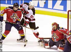 new arrival 181a7 8366e Florida Panthers/New Jersey Devils NHL recap on ESPN
