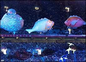 Summer Olympics 2000 Paralympics Open In A Blaze Of Light