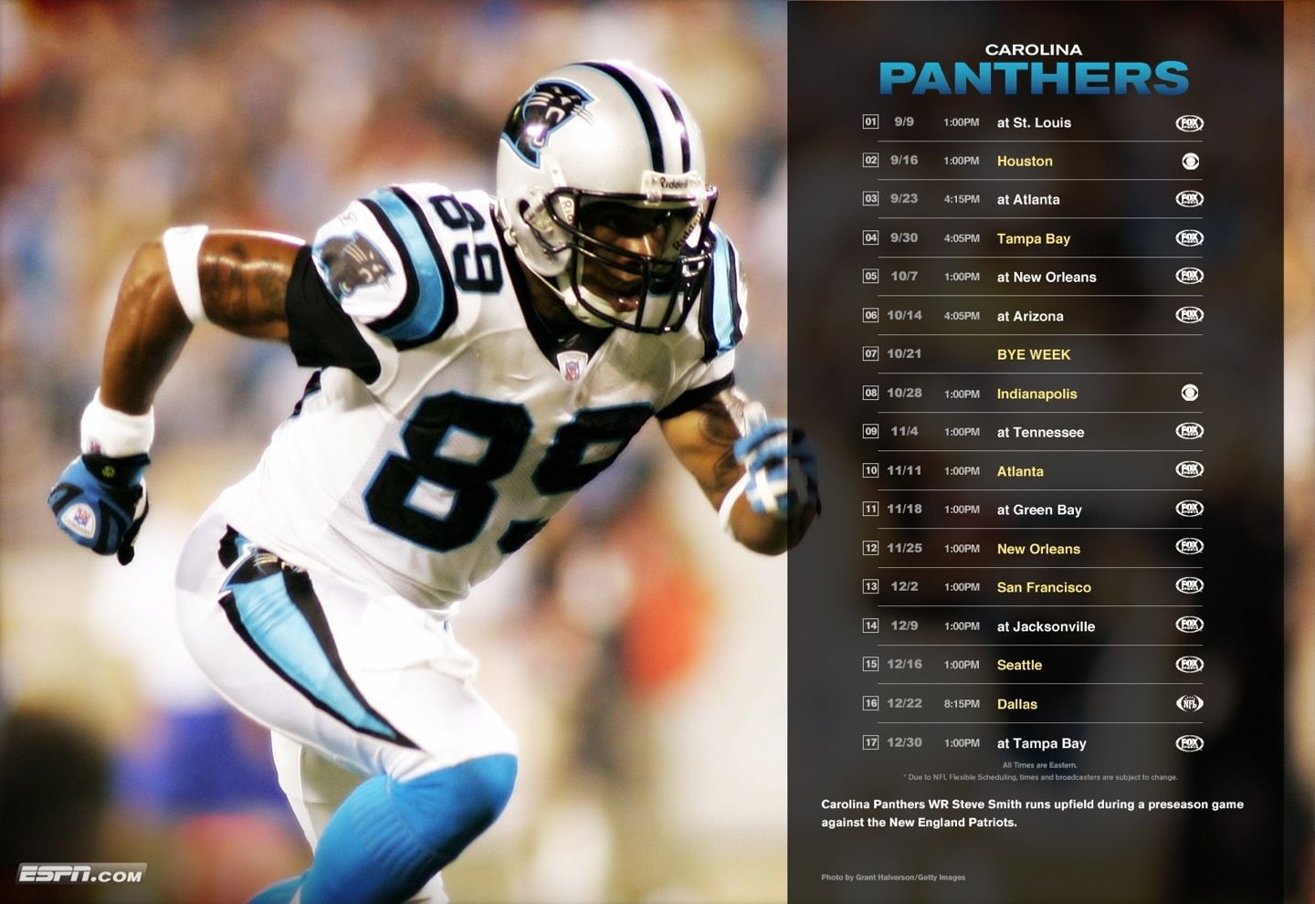Carolina Panthers - Steve Smith. Labels: Panthers