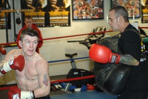 Billy Graham and Ricky Hatton