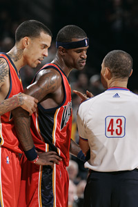 Stephen Jackson and Matt Barnes