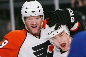 Scott Hartnell and Steve Downie