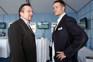 Tom Brady and Tom Arnold