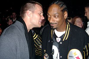 Tom Brady and Snoop Dogg