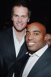 Tom Brady and Tiki Barber