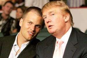 Tom Brady and Donald Trump