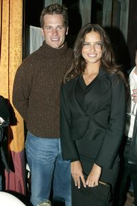 Tom Brady and Adriana Lima