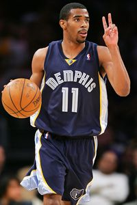 Lisa Blumenfeld/Getty Images Mike Conley has averaged 33.5 minutes in