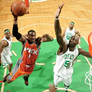 Kevin Garnett and Amare Stoudemire
