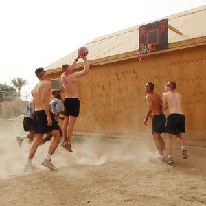 Basketball at Patrol Base Kemple