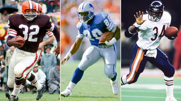 the greatest running backs of all This list of top nfl running backs of all time is ranked by football fans worldwide who are the best nfl running backs of all time the goal is to determine the greatest running backs to ever play the game they are some of the fastest, most athletic sports stars in the game these top athletes have been wowing fans across the country for years.