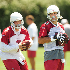 Kurt Warner and Matt Leinart