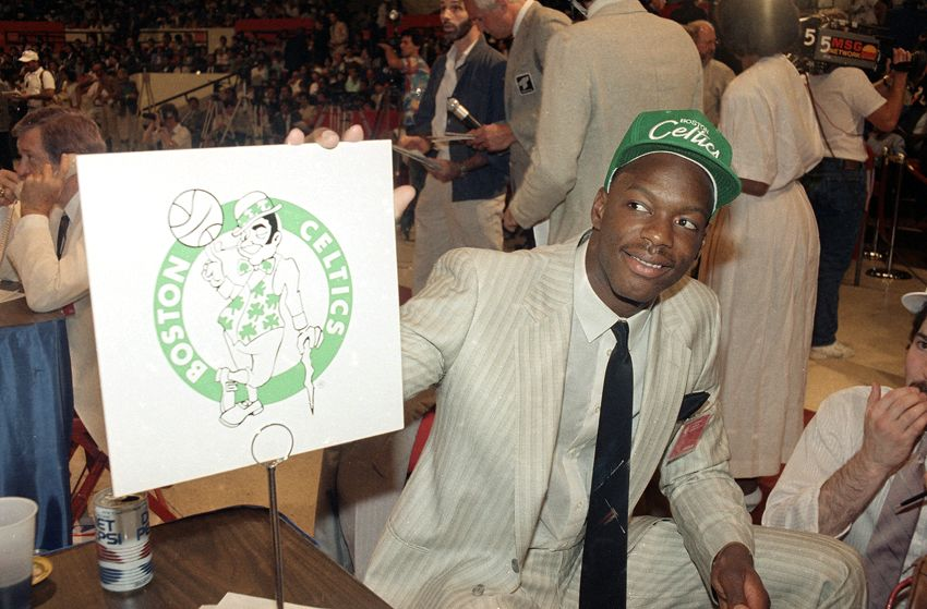 Len Bias on draft night