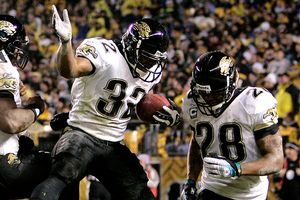Maurice Jones-Drew and Fred Taylor