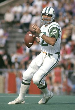 joe namath throwing