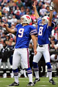 luc leclerc us presswire buffalo kicker rian lindell gave the bills a