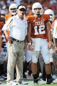 Mack Brown, Colt McCoy