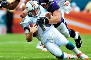steve mitchell us presswire chad pennington and the dolphins could