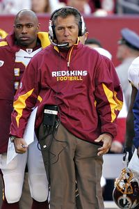 ap photo lawrence jackson coach jim zorn has guided the redskins to a