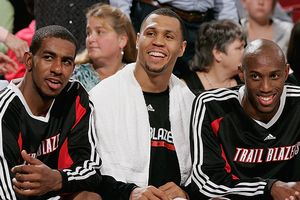 LaMarcus Aldridge, Brandon Roy, Travis Outlaw