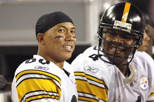 Hines Ward and Byron Leftwich