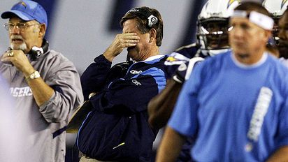 robert benson us presswire norv turner reacts sunday as his team drops