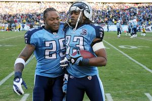 LenDale White and Michael Griffin