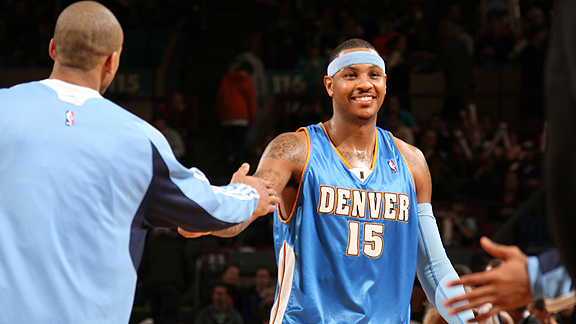 carmelo anthony 2011. Carmelo Anthony was one of six