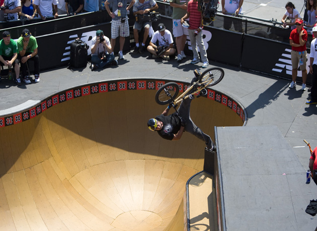 X Games Bmx. style at the #39;08 X-Games.