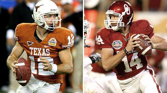 Colt McCoy + Sam Bradford
