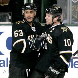 Mike Ribeiro and Brenden Morrow