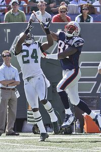 Randy Moss and Darrelle Revis