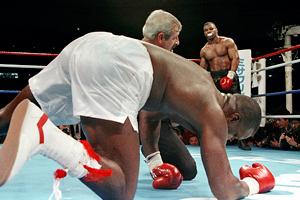 Mike Tyson y Buster Douglas