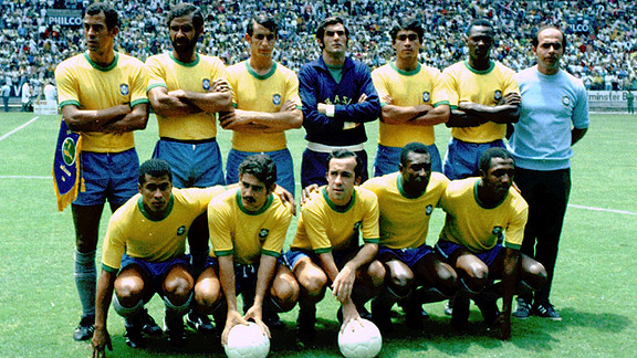 1970 Brazil World Cup Team