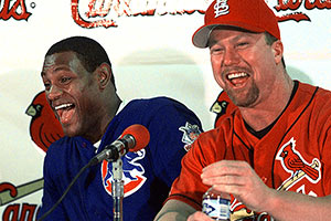 Sammy Sosa and Mark McGwire