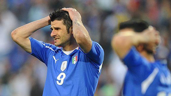Italy Eliminated