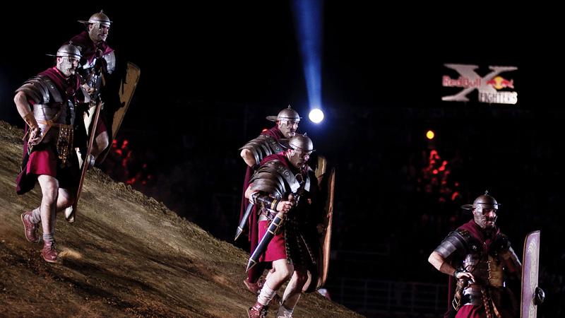 Gladiator pit