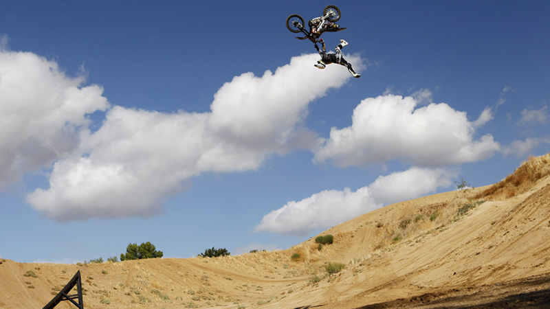 Indy backflip