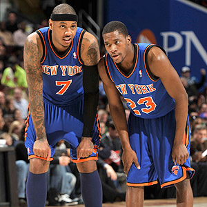 Carmelo Anthony/Toney Douglas