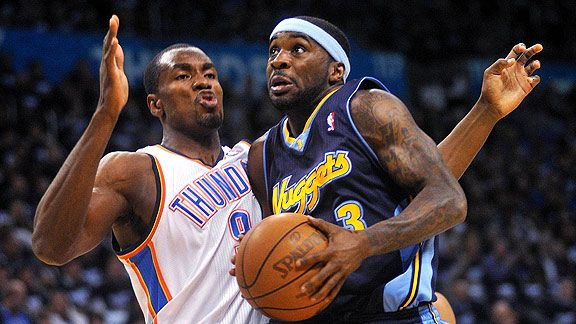 Thunder V. Nuggets
