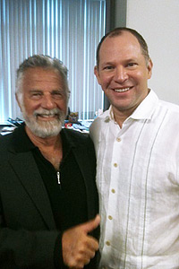 Matthew Berry and Jonathan Goldsmith