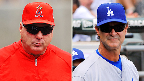 Mike Scioscia, Don Mattingly