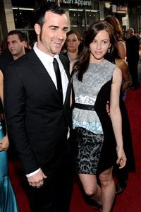 Justin Theroux & Heidi Bivens