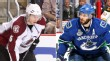 Erik Johnson and Ryan Kesler