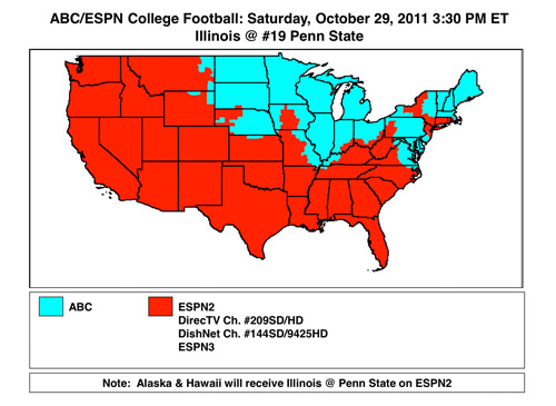espn nfl week 9 schedule college football wednesday night